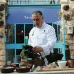 Jerusalemn Restauranger kock lagar mat