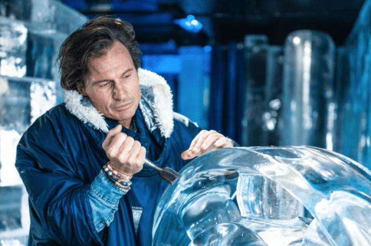 Stordalen skapar svit av is och snö på Icehotel