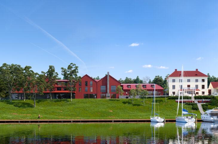 Bild på nya Smådalarö Gård Hotell & Spa